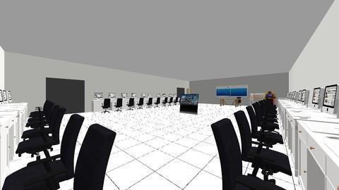 Computer Room - Retro - Office - by adolfjames