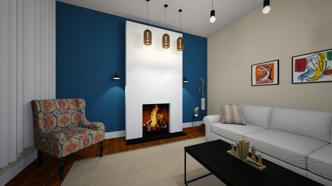 salon 2 - Living room - by sahar94