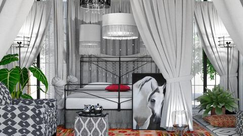 Bohemian Bedroom - by ritsa