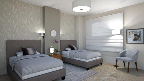 Hotel style bedroom - Bedroom - by maribel