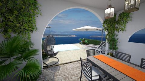 Mediterranean outdoors - by chloelm92