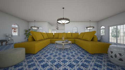 Moroccan living space 1 - Living room - by Orange Blossom Interiors