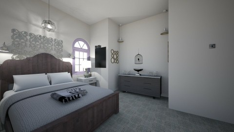 master bedroom - by optimis