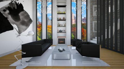 Thinking - Minimal - Living room - by Laurika