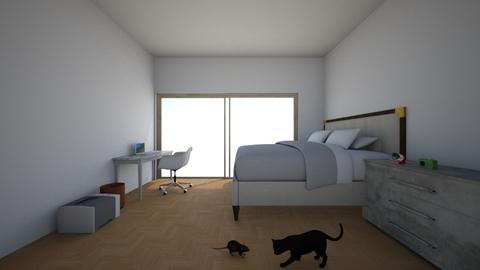 white room - Modern - Bedroom - by modern arcitect