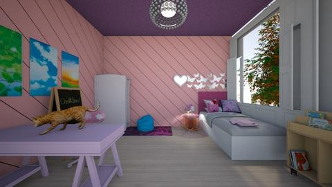 pink room - Kids room - by Asa56678