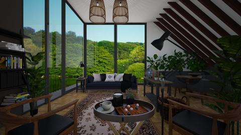 Peace - Living room - by klara992