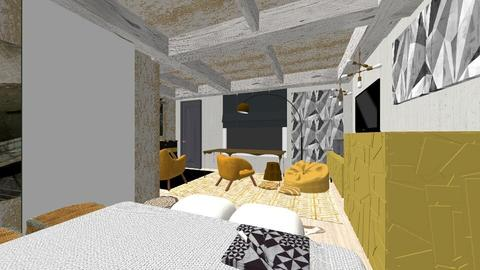 Room gold - Bedroom - by MihaelK
