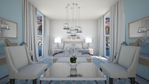 symmetry bedroom - by rafita