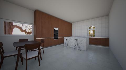 Dream Home_Kitchen - Country - Kitchen - by ayeshxhoney