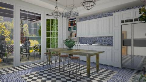 Rustic kitchen - Vintage - Kitchen - by ovchicha