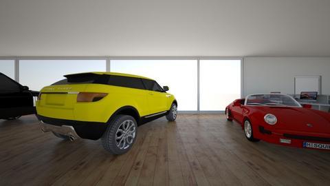 auto garage - by Nina van vliet