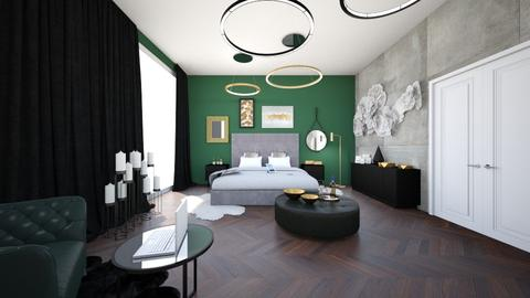 adevcxxsfe - Bedroom - by lukaszmaslankowski