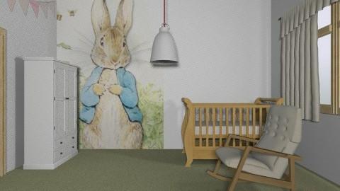 Peter rabbit - Modern - Kids room - by yoban