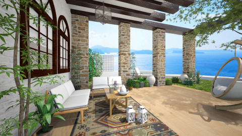 Greece summer - Rustic - by Senia N