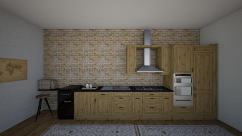 Oak kitchen  - Rustic - Kitchen - by love room