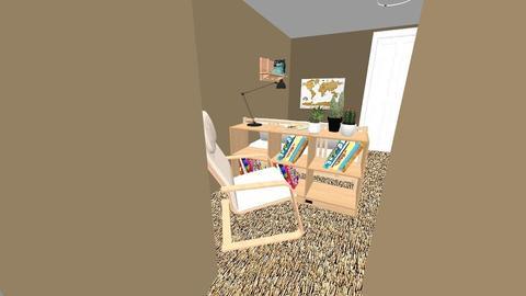 Basement bedroom v4 - Minimal - Bedroom - by niannnn