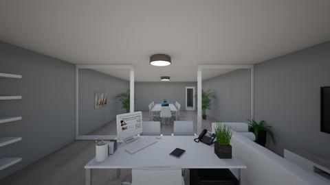 My office photo 2  - Modern - Office - by jakubm87