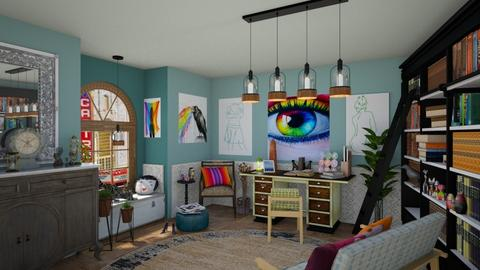 eclectic in the castro - by Teri Dawn