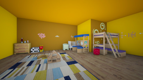 kids room - by ness170