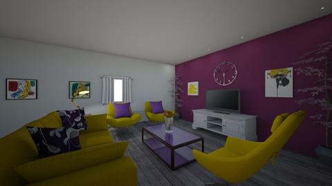 Emily and Gabriel Room - Living room - by emilyvcampos
