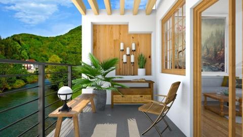 Balcony - by Naavarin
