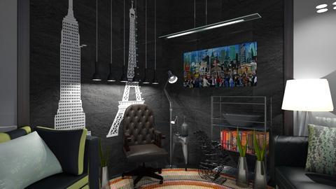 City Living - Retro - Living room - by XiraFizade
