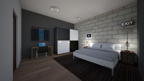 Tom - Bedroom - by AfroditeGoldie