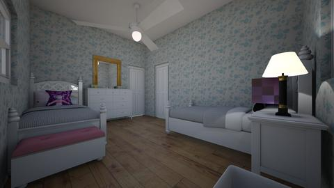 Abby - Bedroom - by abigail_j_feinberg