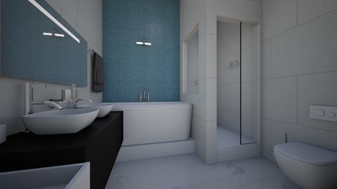 bathroom - Modern - Bathroom - by raissasevero