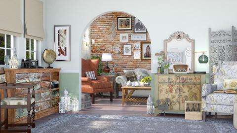 vintage shop - by pandajoy