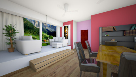 design3 - Modern - Living room - by maya