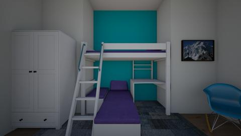 bright kids room - Modern - Kids room - by lostboy11