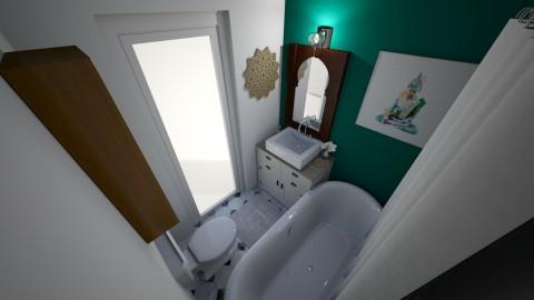 Bathroom - by Gillian Rene