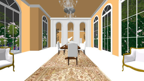 French Classical 2 - Living room - by Amanda_remp