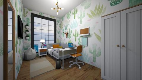 Cactus - Bedroom - by Viki4445