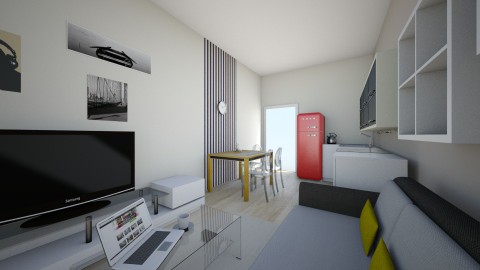 1 - Living room - by polnik
