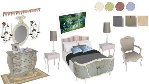 Shabby Chic Bedroom - by Julie S