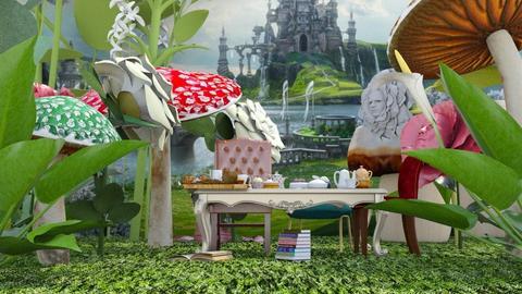 Alice - Garden - by ArtHousedeco