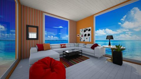 SFullilove1A ARCHITECT - Living room - by Applestyler