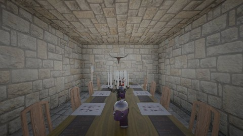 Haunted dining room - Dining room - by Mitchel Carlson