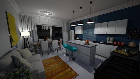 Kitchen 1 - Modern - Kitchen - by CAD Service UK