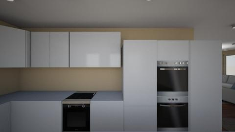 livingroom kitchen 1 - by maria_trifonova