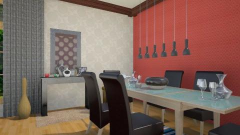 green - Living room - by noosah omar