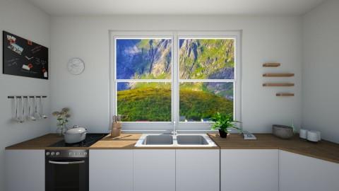 scandi kitch - Minimal - Kitchen - by Georgina Holly