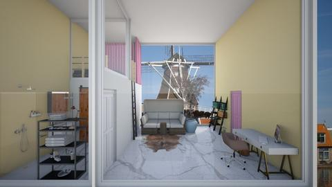 luxe slaapkamer  - Bedroom - by lunaklaassen