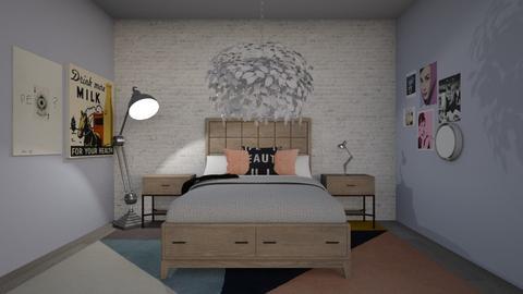Teens Room - Modern - Bedroom - by molly_designs