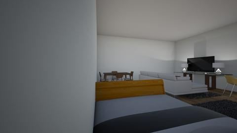 bed room living room gami - Classic - Living room - by bearthegrizzzlie