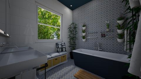 Came Brea Bathroom 1 - Bathroom - by Lisett