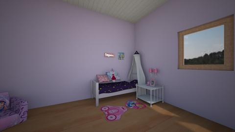 princess bedroom - Kids room - by Meie